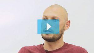 Light skin scalp micropigmentation