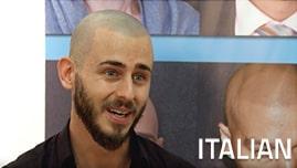 Testimonianza video di Antonio e della sua tricopigmentazione permanente